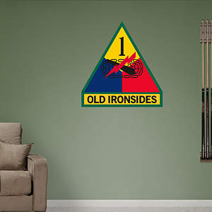 1st Armored Insignia Logo Fathead Wall Decal